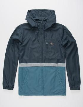 VISSLA Dredges Mens Windbreaker Jacket