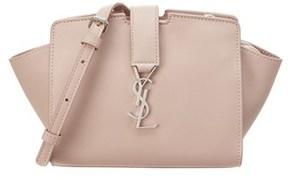 Saint Laurent Toy Cabas Leather Shoulder Bag. - POWDER - STYLE