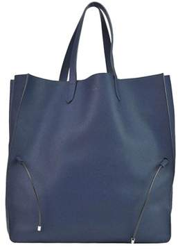 Jil Sander Women's Blue Leather Tote.