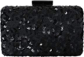 OSCAR DE LA RENTA Rogan Sequin Box Clutch
