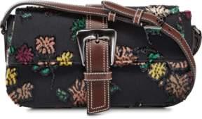 Rochas Woven Shoulder Bag
