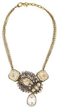 Erickson Beamon Crystal Bib Necklace