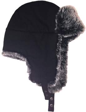 Apt. 9 Men's Textured Faux-Fur Trapper Hat