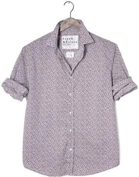 Frank And Eileen Mens Paul Italian Poplin Floral Print Shirt