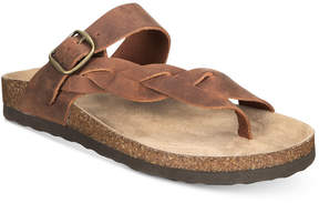 White Mountain Crawford Slip-on Footbed Thong Sandals Women's Shoes