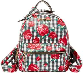 Betsey Johnson GINGHAM STYLE BACKPACK
