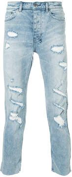 Ksubi distressed effect jeans