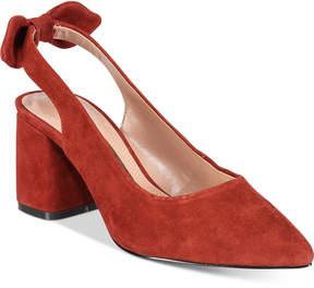 Kensie Annamaria Block-Heel Pumps Women's Shoes