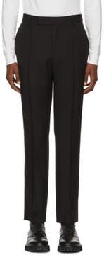 Yang Li Black Slim Trousers