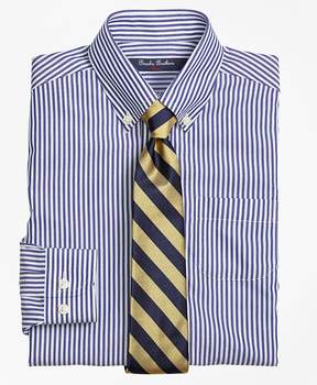 Brooks Brothers Non-Iron Supima® Cotton Broadcloth Bengal Stripe Dress Shirt