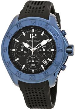 Nautica NMX 1600 Chronograph Black Dial Men's Watch