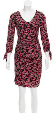 Laundry by Shelli Segal Ruched Mini Dress w/ Tags