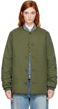 Chimala Green Military Padded Jacket