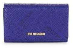 Love Moschino Logo Embossed Continental Wallet
