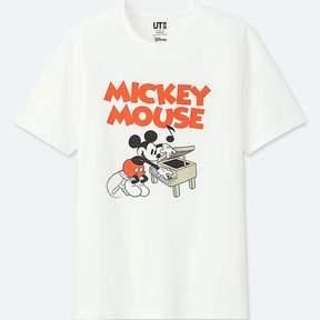 Uniqlo Men's Sounds Of Disney Short-sleeve Graphic T-Shirt