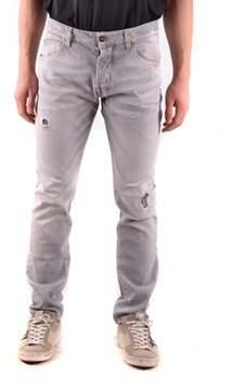 Reign Men's Grey Cotton Jeans.