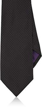 Ralph Lauren Purple Label Men's Pin-Dot Silk Necktie