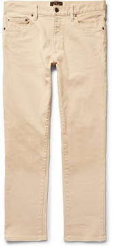 Beams Slim-Fit Cotton-Blend Trousers