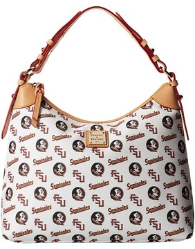 Dooney & Bourke Collegiate Sac Hobo Hobo Handbags - WHITE FLORIDA STATE - STYLE