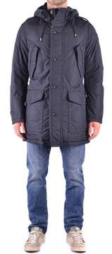 Dekker Men's Blue Polyester Coat.
