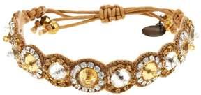 Deepa Gurnani deepa by Mallorie Large Stone Adjustable Bracelet
