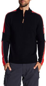 Obermeyer Vista Half Zip Merino Wool Sweater