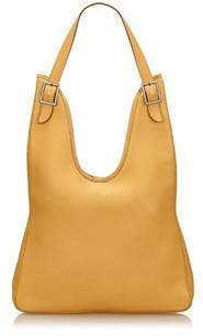 Hermes Pre-owned: Leather Massai. - YELLOW - STYLE
