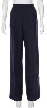 Christian Dior Mohair & Wool-Blend Pants