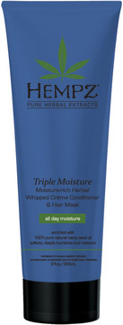 Hempz Triple Moisture Rich Herbal Whipped Creme Conditioner & Hair Mask