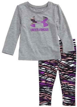 Under Armour Infant Girl's Logo Tee & Leggings Set