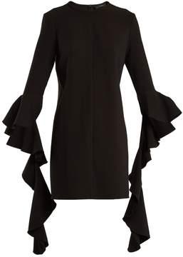 Ellery Kilkenny deconstructed-sleeve crepe dress