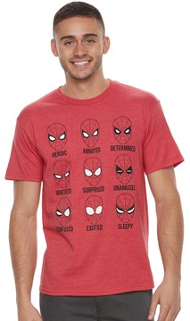 Marvel Men's Spider-Man Mad or What? Tee