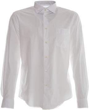 Hartford Penn-Pat Long Sleeve Shirt - White