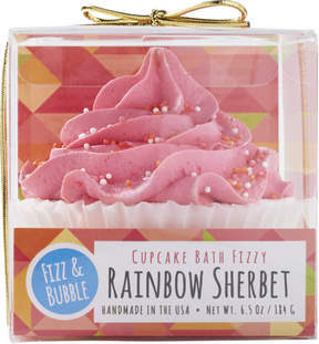 Fizz & Bubble Rainbow Sherbet Bubble Bath Cupcake