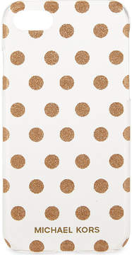 MICHAEL Michael Kors Glitter polka dot iPhone 7 case