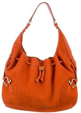 Burberry Drawstring Shoulder Bag - ORANGE - STYLE