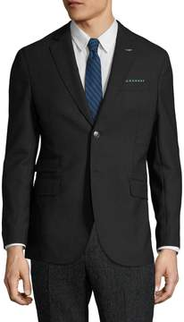Michael Bastian Gray Label Men's Wool Sharkskin Notch Lapel Sportcoat