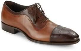 Mezlan Leather Wingtip Shoes