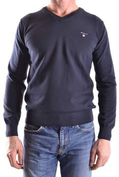 Gant Men's Blue Polyester Sweater.
