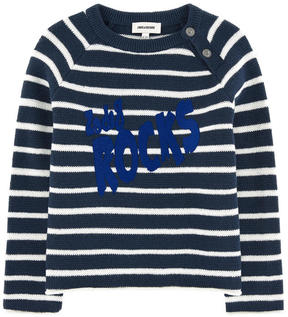 Zadig & Voltaire Striped wool blend sweater