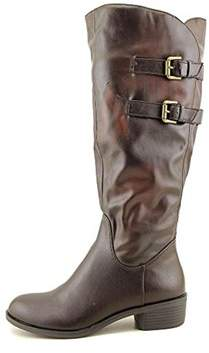 Style&Co. Style & Co. Womens Masen Almond Toe Knee High Fashion Boots.