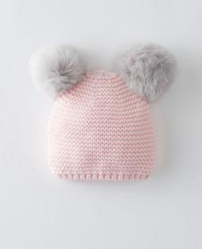 Hanna Andersson Critters + Hugs Sweaterknit Hat