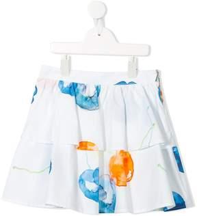 MSGM cherry print skirt