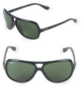 Ray-Ban 59MM Square Aviator Sunglasses