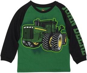 John Deere Boys 4-7x Tractor Graphic Raglan Tee