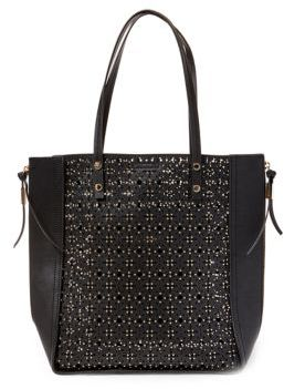 Steve Madden Perforated North South Tote