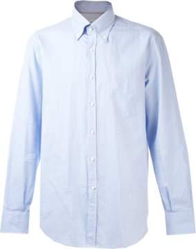 Brunello Cucinelli Gingham Button Down Shirt