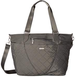 Baggallini Quilted Avenue Tote with RFID Wristlet Tote Handbags