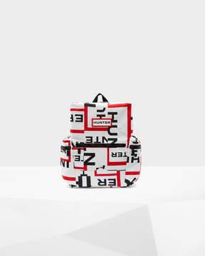Hunter Exploded Logo Nylon Mini Backpack