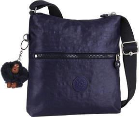 Kipling Zamor nylon shoulder bag - BLACK SCALE EMB - STYLE